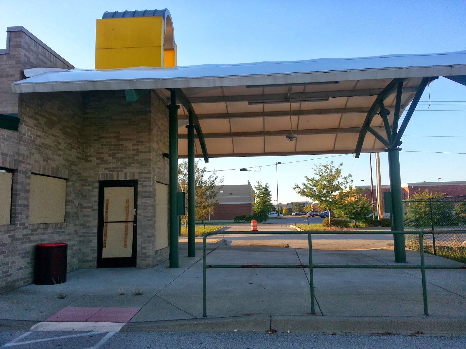 Abandoned Sonic Drive In Restaurant Clarksville Indiana
