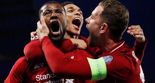 خروج برشلونة من دوري أبطال أوروبا بعد خسارتها أمام ليفربول 4-0