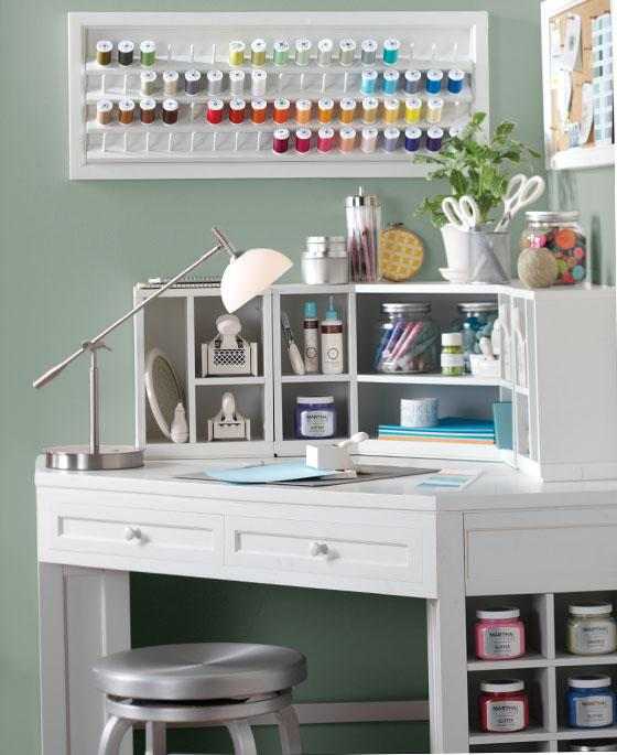 Craft Ideas For Your Desk: Martha Stewart Craft Room