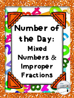 https://www.teacherspayteachers.com/Product/Mixed-Numbers-Improper-Fractions-Number-of-the-Day-2342707