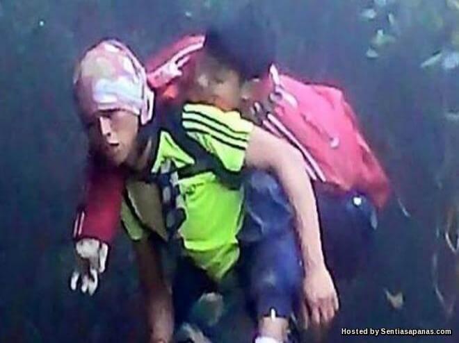 Gambar Seribu Makna Wira Gunung Kinabalu
