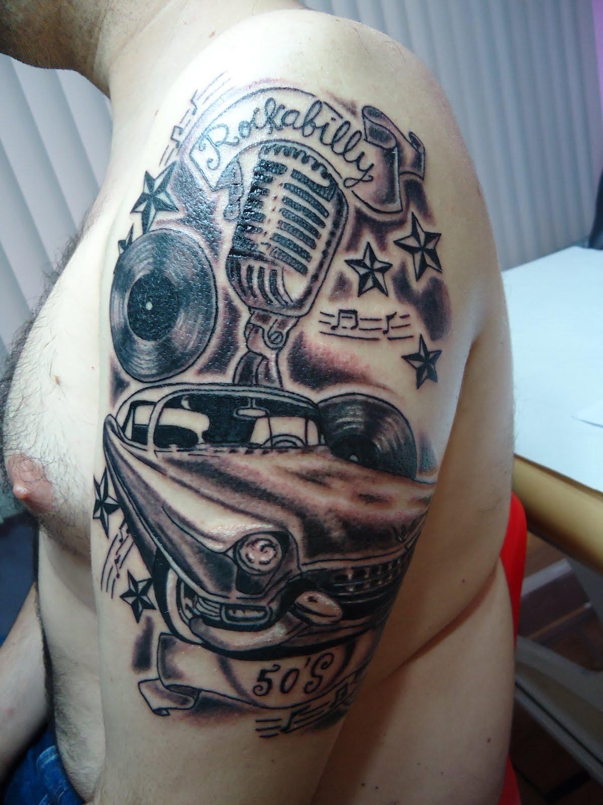 Miss Tattoo Rockabilly Tattoo  Tattooskid