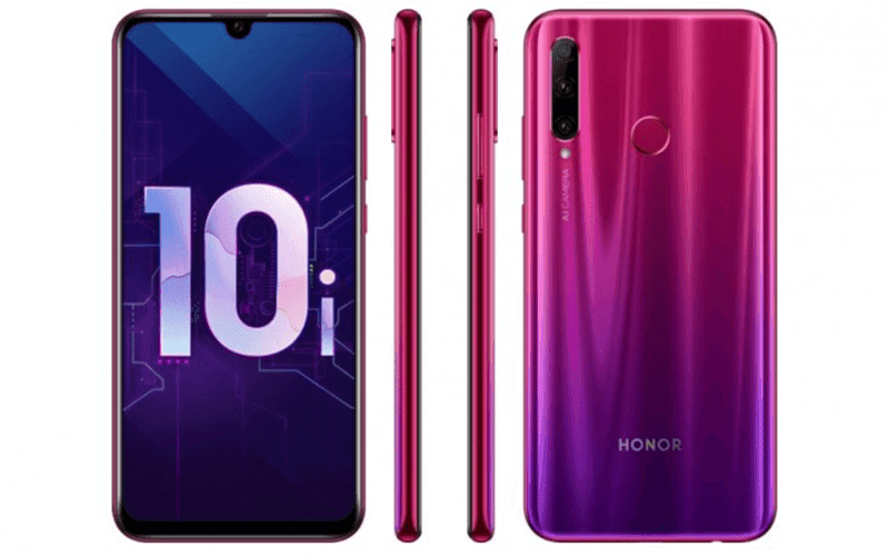 Honor 10i features a triple-cam behind and a 32MP selfie shooter