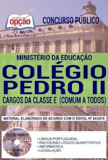 Apostila Concurso Colégio Pedro II 2018 PDF Download e Impressa
