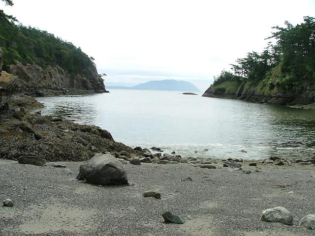 Matia Island cove