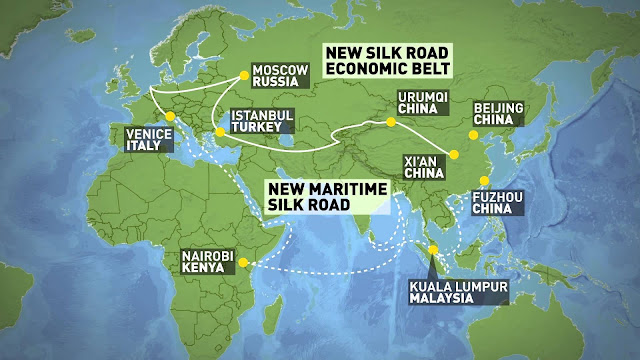 "FEATURED |  Economic Expansion Strategy for China's ""One Belt One Road"""