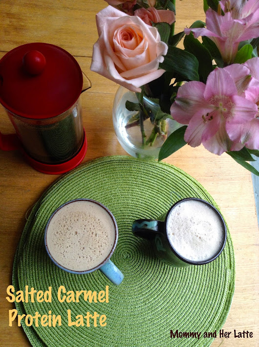 Salted Carmel Protein Latte