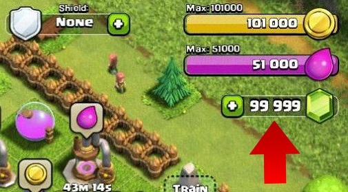 Clash Of Clans Triche Gems Tool