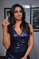 Sanjana looks happy in sparkling short Deep neck Purple Gown ~  Exclusive 37.JPG
