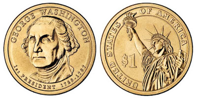 Moneda Conmemorativa de George Washington