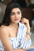 Avantika Mishra in One Shoulder Crop Top and Denim Jeggings ~  Exclusive 051.JPG