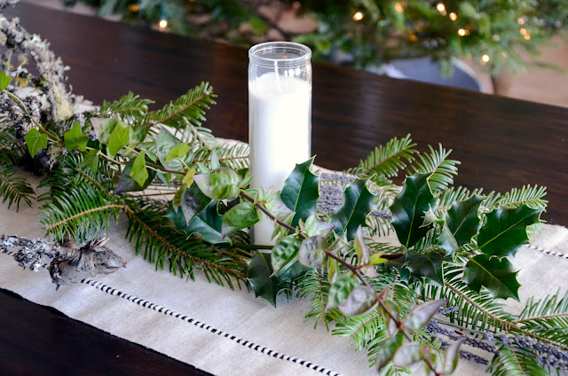 Lavender Table Arrangements for the Holidays with Pelindaba's Organic Lavender