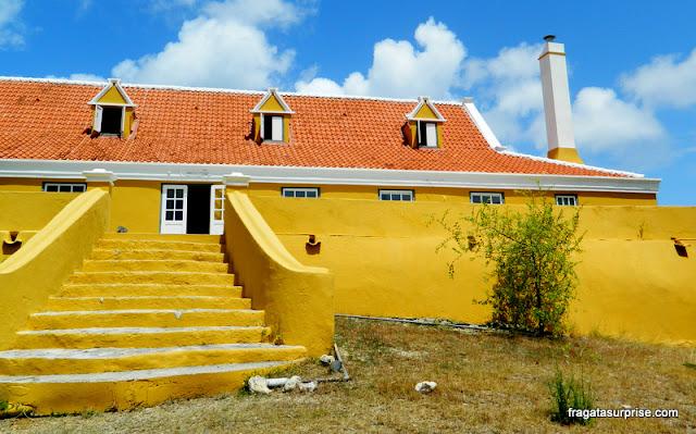 Casa-grande da Fazenda Knip, onde foi iniciada a rebelião de escravos em Curaçao