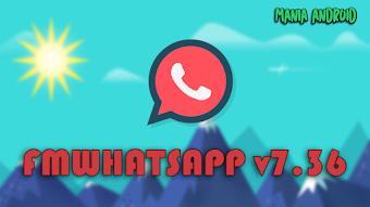 Download - FMWhatsApp v7.36 / Chamadas de Vídeo / Invite Links / Temas / 3 WhatsApps em 1 Aparelho / Base v2.18.9 / Antiban /