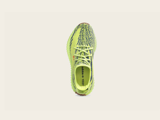 First Look: adidas Yeezy Boost 350 V2 'Semi Frozen Yellow'