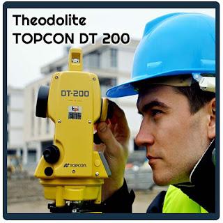 Info Harga Dan Spesifikasi Theodolite Topcon DT 205L