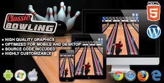 Klasik Bowling - HTML5 Spor Oyunu
