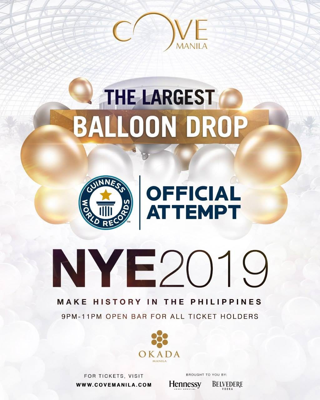 DENR orders Cove Manila to stop balloon drop event or face charges