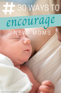 New moms need some help: here are 30 ways to help a mom of a newborn baby!