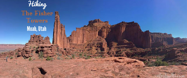 7 Best Dog Friendly Trails in Moab, Utah, Hiking Fisher Towers Moab