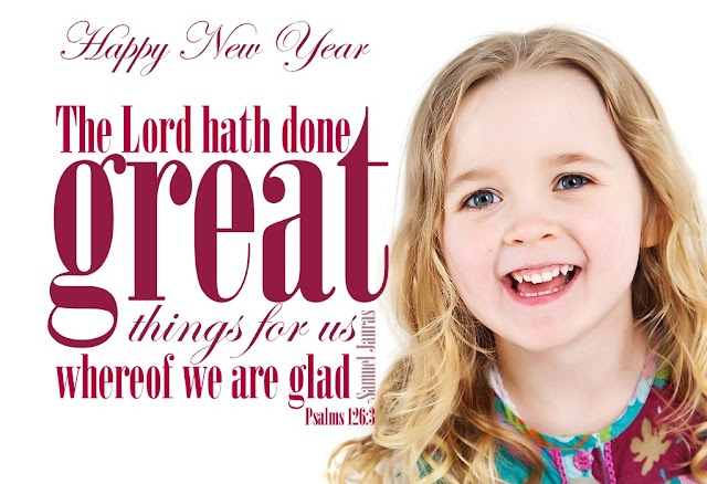 New Year Blessing Promise Bible Verse