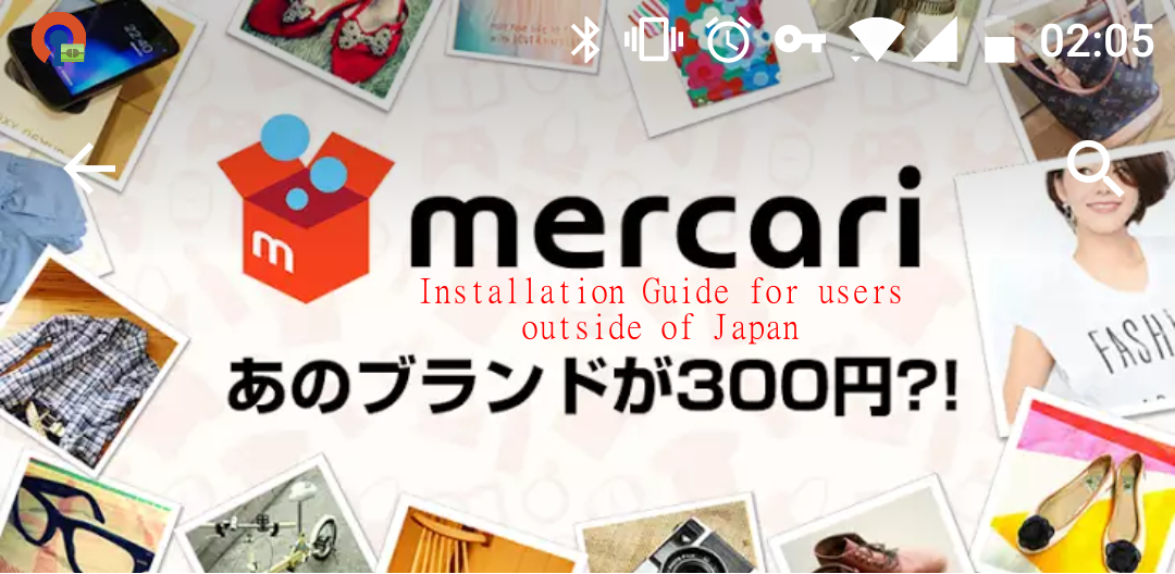 Fuwa-Fuwa-Fashion: How To Install Mercari On Your Android