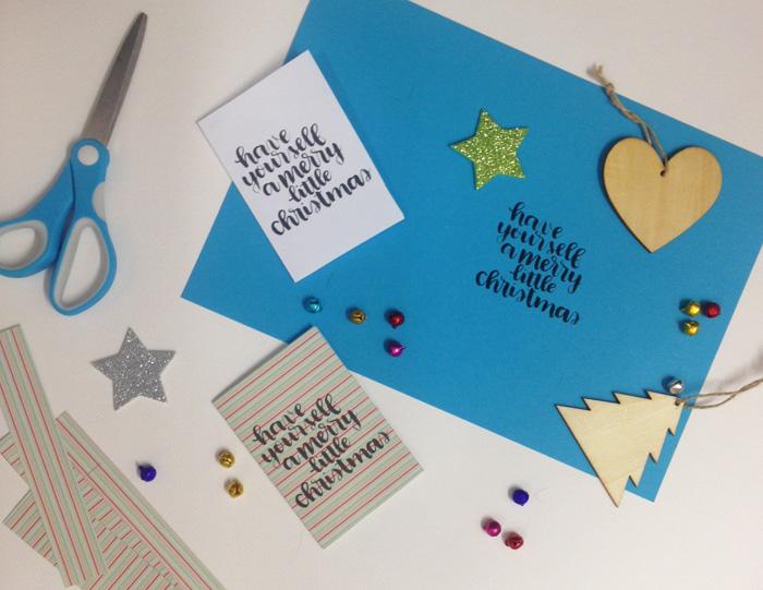 Free Christmas Cards Printable! - www.christina77star.co.uk