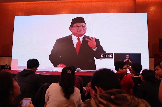 Jika Mendapat Mandat, Prabowo Jamin Harga Pangan Terjangkau