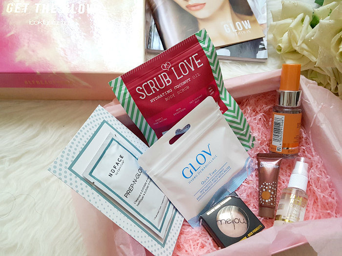 Unboxing: lookfantastic - Get the Glow Mai Box & Giveaway Mai 2017