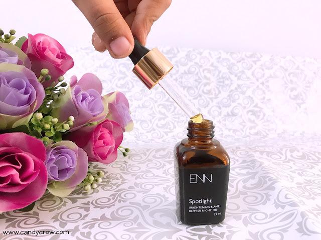 ENN Spotlight Night Oil Review