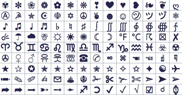 Cross Symbols for Facebook | Symbols & Emoticons Symbols Copy And Paste Cool