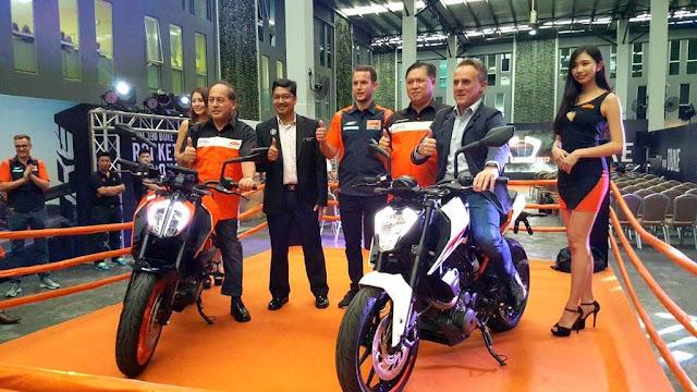 KTM 390 Duke Dan 250 Duke 2017 Di Lancarkan Secara Rasmi Di Malaysia