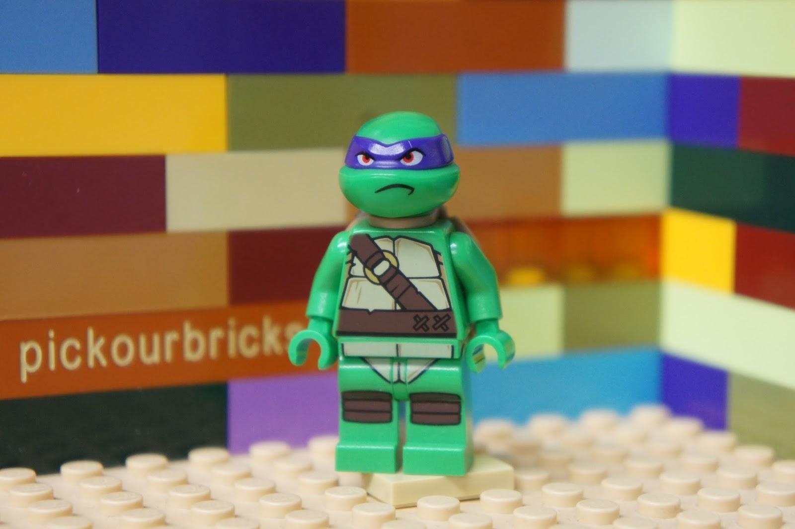 Donatello Lego Minifigure