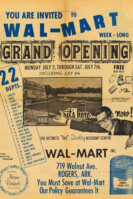 Wal-Mart - Rogers, Arkansas U.S.A. - 1962