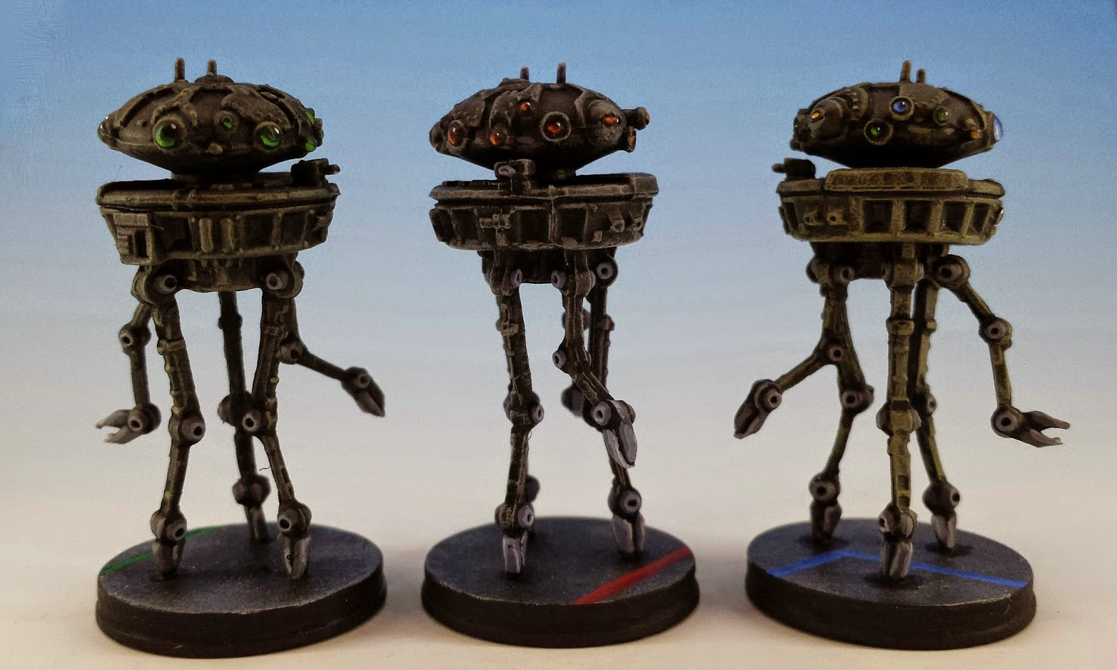 Probe Droid, Fantasy Flight Games (2014, sculpted by Benjamin Maillet, painted by M. Sullivan) (rear)