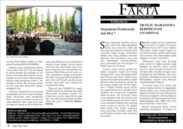 Buletin Fakta edisi Mei 2017