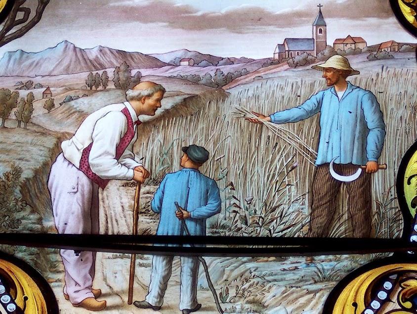 As colheitas acabaram se estragando: sinal que dera Nossa Senhora para provar a veracidade da aparição