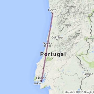 mapa lisboa porto Viagem de trem de Lisboa ao Porto | Dicas de Lisboa e Portugal mapa lisboa porto