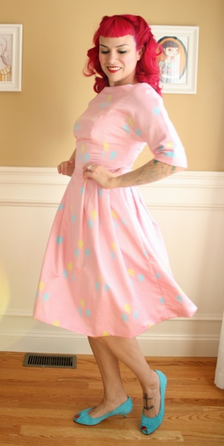 Gertie S New Blog For Better Sewing The Pinkie Pie Dress