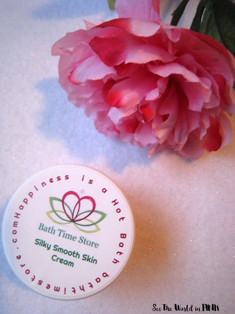 "Bath Time Box ""Rose Infused Facial Cream"""