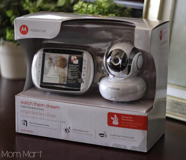 Motorola MBP36S video baby monitor #MotorolaBabyMonitor #CleverGirls