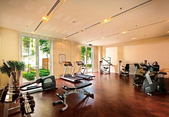 lone pine boutique hotel penang gym