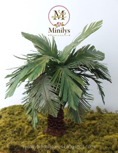 """minilys miniatures"" ""palmera"" ""1:12"""