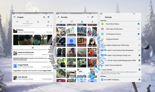 download BBM Mod Tema I-Phone Style Apk Versi 2.13.1.13 Terbaru