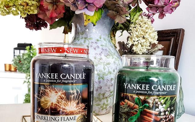 Nowe Limitowane Yankee Candle - Sparkling Flame / Cinnamon & Cedar - Czytaj więcej »