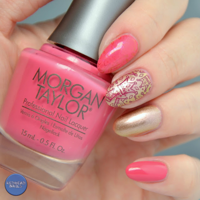 "Morgan Taylor ""One Tough Princess"" swatch"