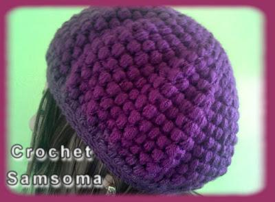كروشيه قبعة نسائية. كروشيه قبعة نسائية بغرزة الباف . Crochet Puff Stitch Hat for woman . puf stich hat .  Crochet hat stitch puff. طاقية كورشيه . كروشيه طاقية. crochet hat. كروشيه طاقية نسائية بغرزة الباف . كروشيه طاقية بكاب . crochet gorro . كروشيه طاقية نسائية بغرزة الباف  .تعليم الكروشيه للمبتدئين بالفيديو/ كروشيه . تعليم الكروشيه للمبتدئين. بالفيديو تعلم الكروشيه. دروس لتعليم الكروشيه للمبتدئات. crochet samsoma . كروشيه سمسومة . crochet