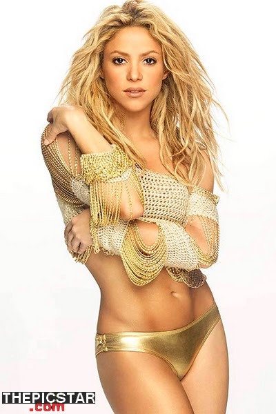صور، إغراء، المغنية، شاكيرا، Shakira، ساخنة، عارية، مثيرة، أرداف، أقدام، سيقان، بطن