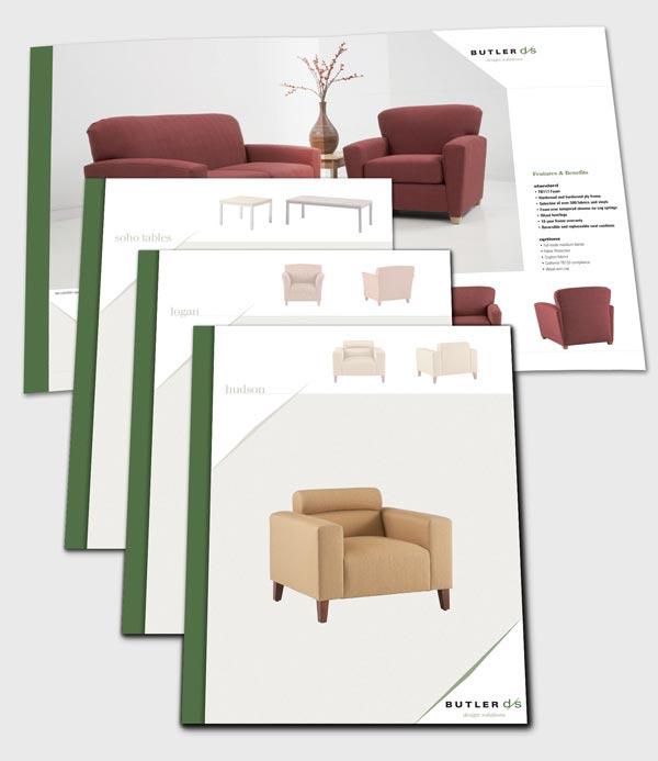 25 Modern Furniture Catalogue & Brochure Designs