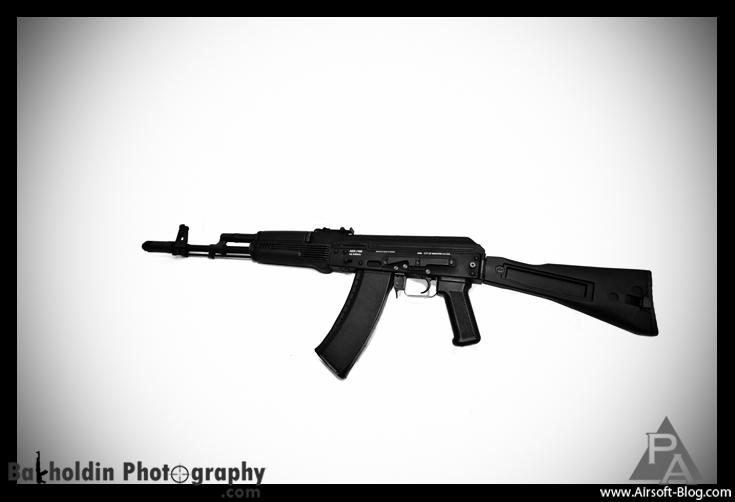 KWA AK-74 Kinetic Feedback Rifle, AKR-74SU, Prototype Airsoft Guns, KWA Electric Blowback Rifle, Pyramyd Airsoft Blog, Tom Harris Media